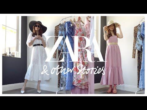 [Вой весеннего платья] Zara & Other Stories Примерят 6 весенних платьев Yong ~ |  ZARA & OTHER STORIES 6 ПЛАТЬЕВ ПОПРОБУЙТЕ НА HAUL