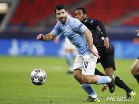 Aguero, 'gol terbanyak di luar EPL', meninggalkan Man City
