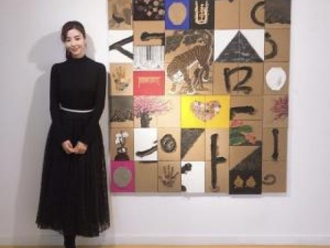 Gyu-ri Kim และ Ki-woong Park นักแสดงและจิตรกร  ทำไมดาวถึงวาด