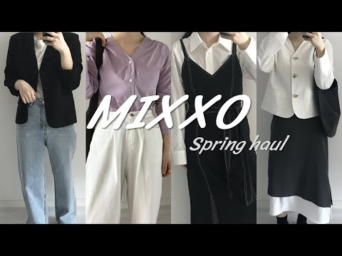 2021 S/S Miss MIXXO Spring New Howl |  Shirts, linen jackets, dresses, bags recommended |  Spring daily look