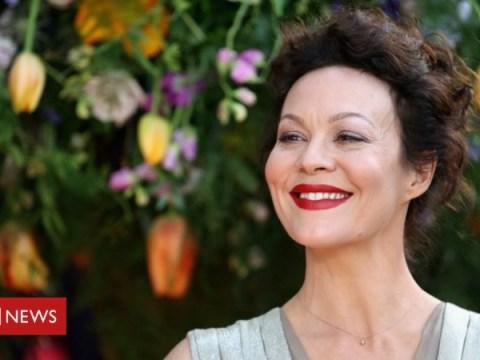 Helen McCrory : 스타들이 Peaky Blinders 여배우에게 경의를 표합니다.