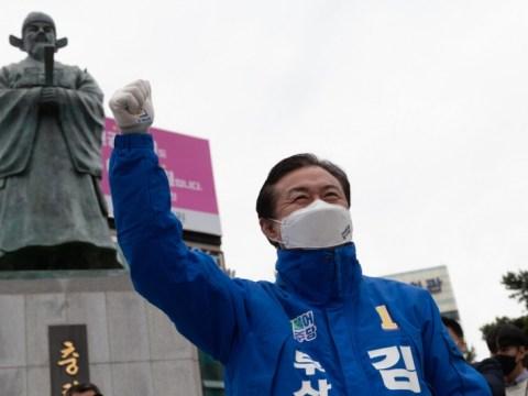 """Kim Young-chun """"Pekerja untuk menyelamatkan Busan""""  Hyung-Jun Park, """"Tolong hukum partai yang berkuasa yang tidak kompeten"""""""