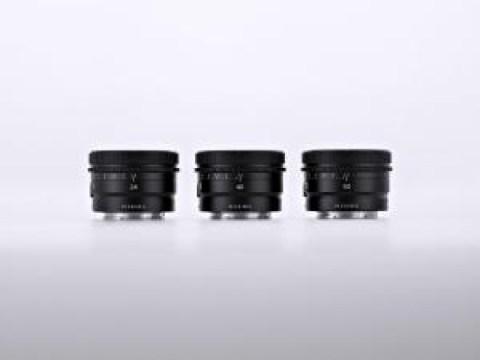 Sony E-mount lensa tunggal 3 jenis jajaran produk khusus portabilitas 24/40 / 50mm diluncurkan