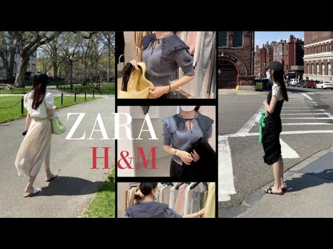 End of month settlement |  April's Zara & Echen-M |  Liaselena Pick 👗|  What to buy and what to keep |  Zara, H&M recommended items |  ZARA h&m HAUL