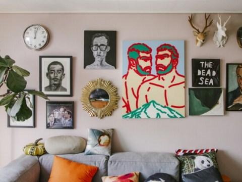 [ESC] Saat Anda mengisi tembok kosong, rumah Anda adalah museum seni!