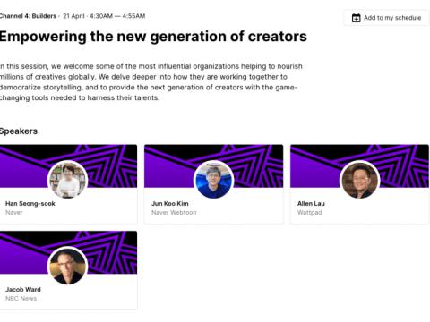 """Naver mengakuisisi Wattpad """"akan memimpin pertumbuhan platform bercerita global dengan teknologi inovatif"""""""