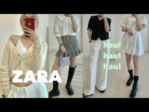 2021 New ZARA Fashion Howl⚡️春季/夏季🌱Lookbook(办公室一眼/大学生风貌)