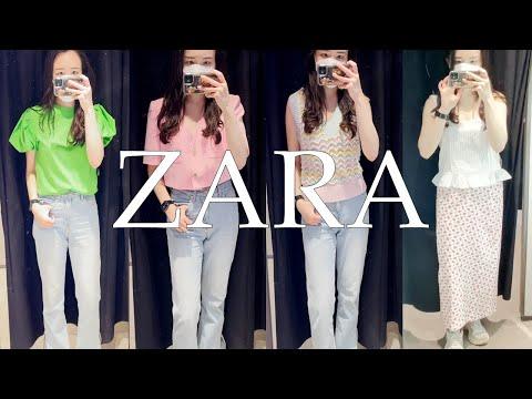 ZARA SS Fashion Howl |  Tops und Kleider |  Ein formeller Blick vom Trinken zu Hause  Frühling Sommer Täglicher Look |  Blusen und Jacken  Jara trägt 7 neue Kostüme