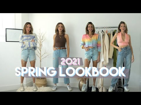 SPRING LOOKBOOK 2021 | casual spring outfits