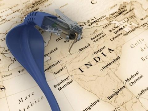 인도, 광대역 서비스의 3 % 만 유선으로 연결되는 이유