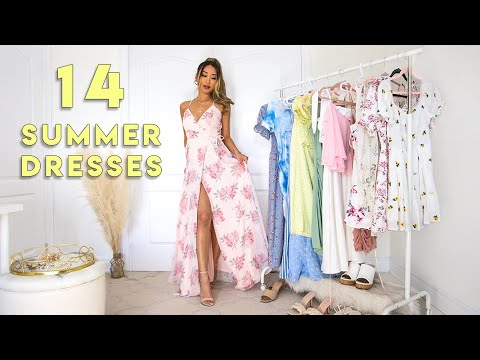 SUMMER DRESSES LOOKBOOK 🌞2021 Fashion Lookbook