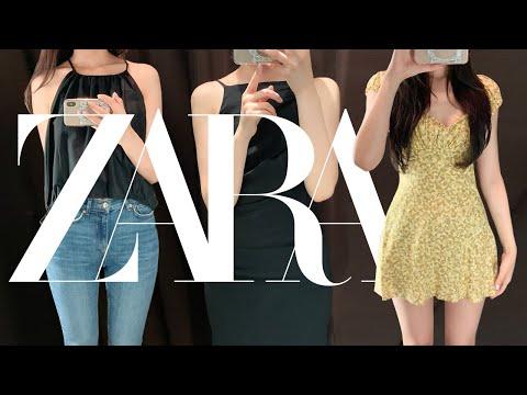 VLOG | Zara Howl | Zara夏季新款服装(Zara连衣裙,Zara牛仔裤,Zara上衣搭配)|时尚How叫|夏季Lookbook |日常看装|时尚Vlog | Daily Vlog | ZARA TRY ON HAUL