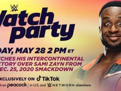 이번 주 금요일 WWE Watch Party를 위해 TikTok에서 Big E 라이브에 참여하세요.