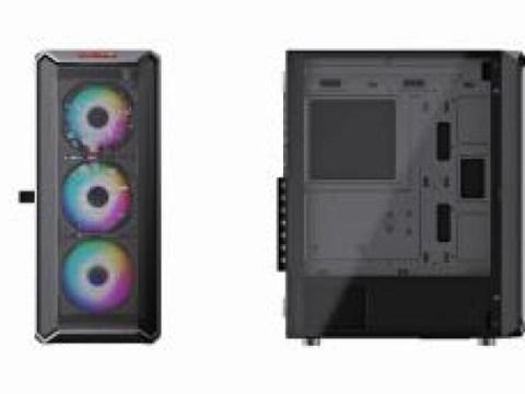 Harmoni mesh dan desain, casing Micronics Coolmax CX480 dirilis