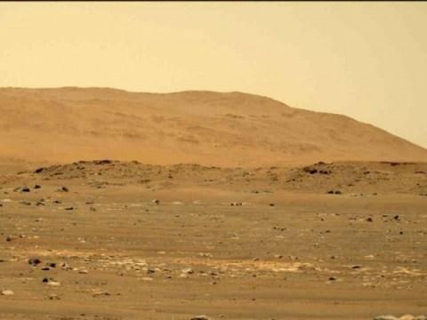 Tertangkap, kepadatan udara 'seperseratus dari Bumi' helikopter terbang Mars