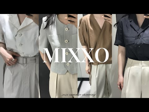 Miss MIXXO summer new shopping.  2021 summer |  Short-sleeved jacket, linen setup, dress, bag recommended |  Summer Daily Look