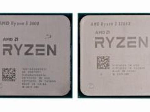 Ryzen 3300x·3600 เร็วกว่า Core 10400·11400…  ประสิทธิภาพของ CPU 4 แบบ bench