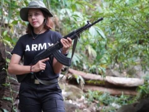 Mantan Miss Myanmar, 'menyatakan perang' terhadap militer, mengutip pernyataan Che Guevara