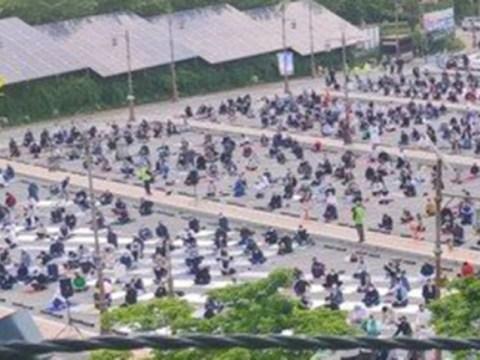 Sekelompok kasus yang dikonfirmasi terjadi pada acara Ramadhan yang dihadiri oleh lebih dari 1.000 orang asing …  karantina darurat