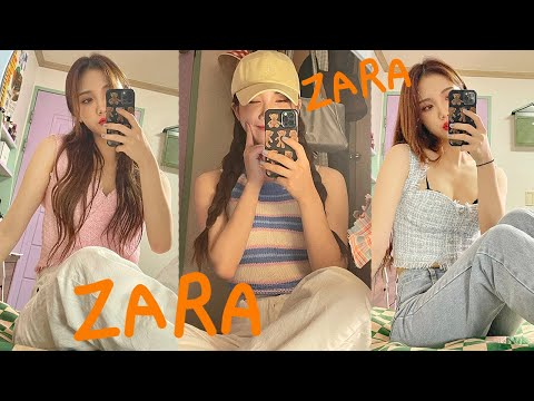 2021 Zara Summer Fashion Howl🐳 Daily Pants/Two-Piece&One Piece/Basic Look/Blouse🌂 ZARA SUMMER FASHION HAUL