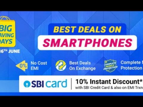 Flipkart Big Saving Days Sale 2021 년 6 월 : Realme X7 5G, Narzo 30A, Realme c25s 등 할인 제공