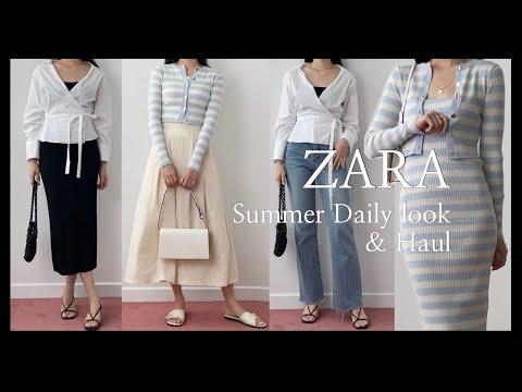 ZARA S/S New Summer Howl & Daily Look 13 ของ Zara    เดรส, เสื้อ, เสื้อถัก, กางเกงยีนส์   jeans  ZARA ลาก