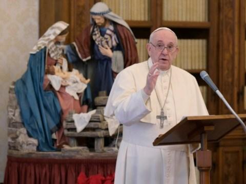 """Paus kutuk serangan udara Israel…  """"Apa yang akan ditimbulkan oleh kebencian dan balas dendam?"""""""