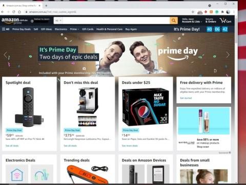 이제 Amazon Prime Day 거래가 진행 중입니다.  기술, 게임, 엔터테인먼트 등에 대한 대폭 할인