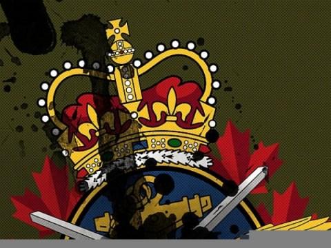 캐나다 군대 내부의 전쟁