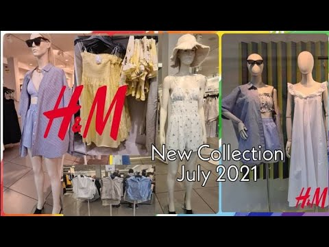 H&M WOMEN'S COLLECTION JULY 2021 |  H&M NEUTRAL COLLECTION 2021