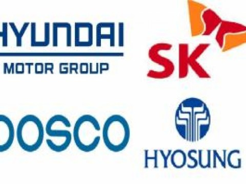 Empat kelompok termasuk Hyundai Motor, SK, POSCO, dan Hyosung mempromosikan pembentukan dewan bisnis hidrogen
