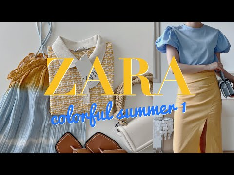 [ZARA HAUL] Fresh and attractive summer collection🐠 /Zara / summse collection /One piece, skirt, top, knit, shoes, shorts