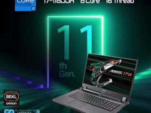 Laptop gaming seri AORUS VD untuk sementara menurunkan ambang harga