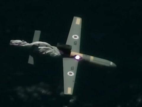 Israel berhasil menembak jatuh drone dengan laser yang diluncurkan dari udara