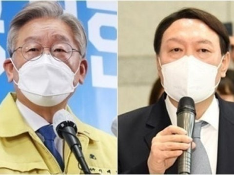 Kesenjangan dalam dua digit …  Yoon Seok-yeol 38% VS Lee Jae-myung 25%, Choo Mi-ae peringkat ke-4 dalam pemilihan presiden sekaligus