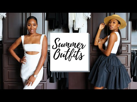 Casual & Dressy Summer Outfits Lookbook | Summer Outfit Ideas 2021