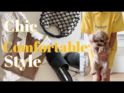 [HAUL] Comfortable and stylish in everyday life!  (ZARA, MANGO, LOEUVRE, Reprod)/dress, shorts, knit, shirt, bag, pajama /fashion