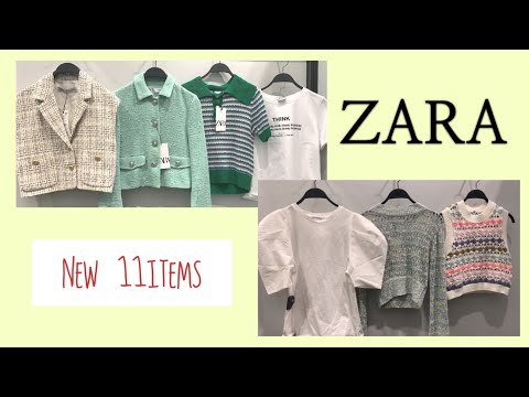 ZARA / This dress is also very pretty / A completely new look that can be worn from now on / I am serious about Zara / Jacket / T-shirt / Knit / Zara dress sharing (finish😃)