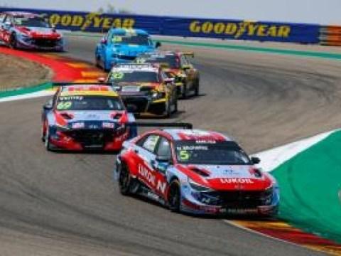 Hyundai Motor Company 'Avante N TCR' memenangkan Kompetisi Mobil Touring putaran ke-3 WTCR