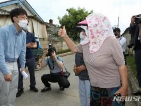 [Newsis Pic] Lee Jun-seok, yang menaiki bangku tes kepemimpinan, 'Hari ini, pergi ke Gangwon-do, sebuah kebun sayur yang konservatif'