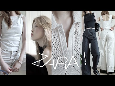 Zara Fashion Howlㅣ8 Things You'll Regret If You Don't See Zara Haul.  🤍🎩ㅣLife-fit pants, blouses, knits, sandalsㅣIMDAY