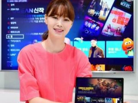 SKB meluncurkan tablet IPTV 'B tv Air' untuk dinikmati di mana saja di rumah