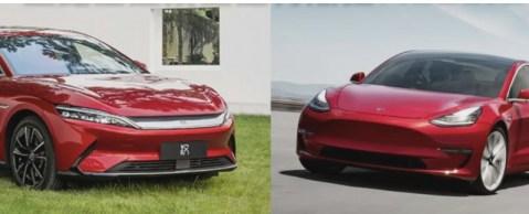 Tesla BYD Nio Xpeng과 Li Auto 비교