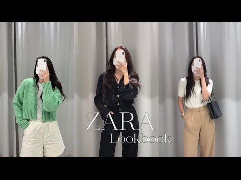 ZARA One Brand New Howl |  Full of autumn mood, 💡🎧🤍 Beige fanatic's autumn daily look |  7 looks that are comfortable to wear |  Jacket, dress, knit, slacks