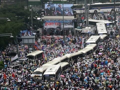 """Komisaris Badan Kepolisian Metropolitan Seoul """"Kami akan menanggapi dengan tegas aksi unjuk rasa 15 Agustus"""""""