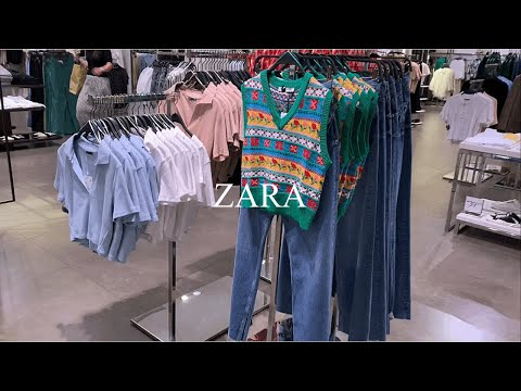 【vlog] ZARAガンジョルギシステムショッピングㅣ夏と秋の間デイリールックㅣニット、Tシャツ、ジーンズ、ワンピース充実着見ㅣ日常のVログㅣショッピングVのログㅣZARAハウル