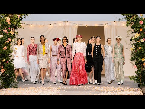 Показ Haute Couture Весна-Лето 2021 – Показы CHANEL