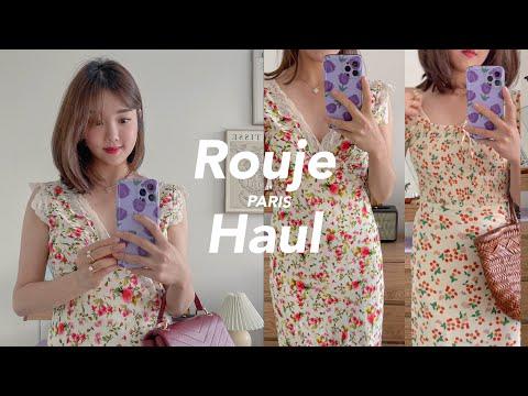 GER) ROUJE PARIS Summer Haul 2021💗 Sommerkleider von Rouje anprobieren🇫🇷