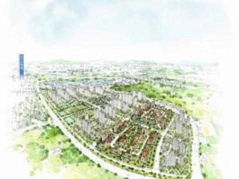 """Dongmun Construction """"Menjual 46 lot situs perumahan keluarga tunggal dengan kelangkaan tinggi"""""""