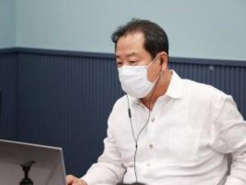 Walikota Namyangju Jo Gwang-han 'Undang karyawan ke ruang virtual'
